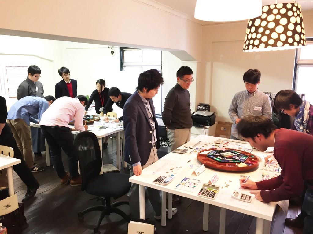 MG研修 マネジメントゲーム研修 20141115-16-01