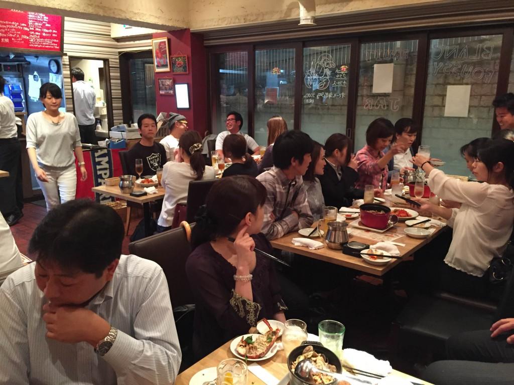 マネジメントゲーム MG 3,5期 懇親会