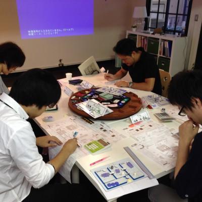 MGマネジメントゲーム研修、中間決算と経営計画