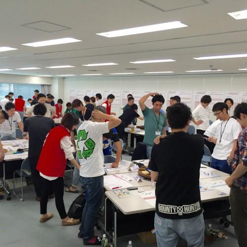 関西で開催のマネジメントゲーム研修 MG